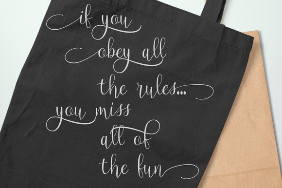 Print on Demand: Magnolia Script & Handwritten Font By Polem - Image 3