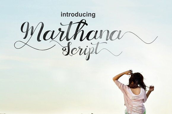 Print on Demand: Marthana Script & Handwritten Font By Ijem RockArt - Image 6