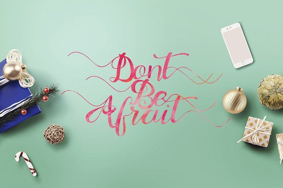 Print on Demand: Marthana Script & Handwritten Font By Ijem RockArt - Image 8
