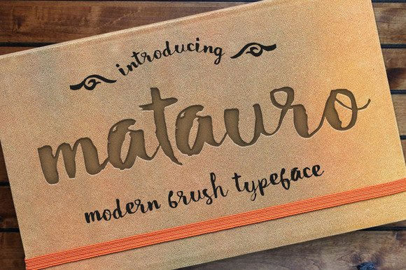 Matauro Font By Incools Design Studio