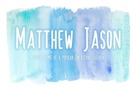 Print on Demand: Matthew Jason Display Font By BonjourType