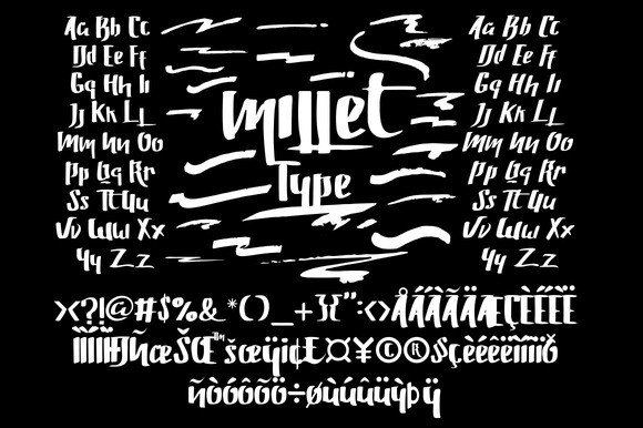 Print on Demand: Millet Display Font By Ndroadv - Image 2