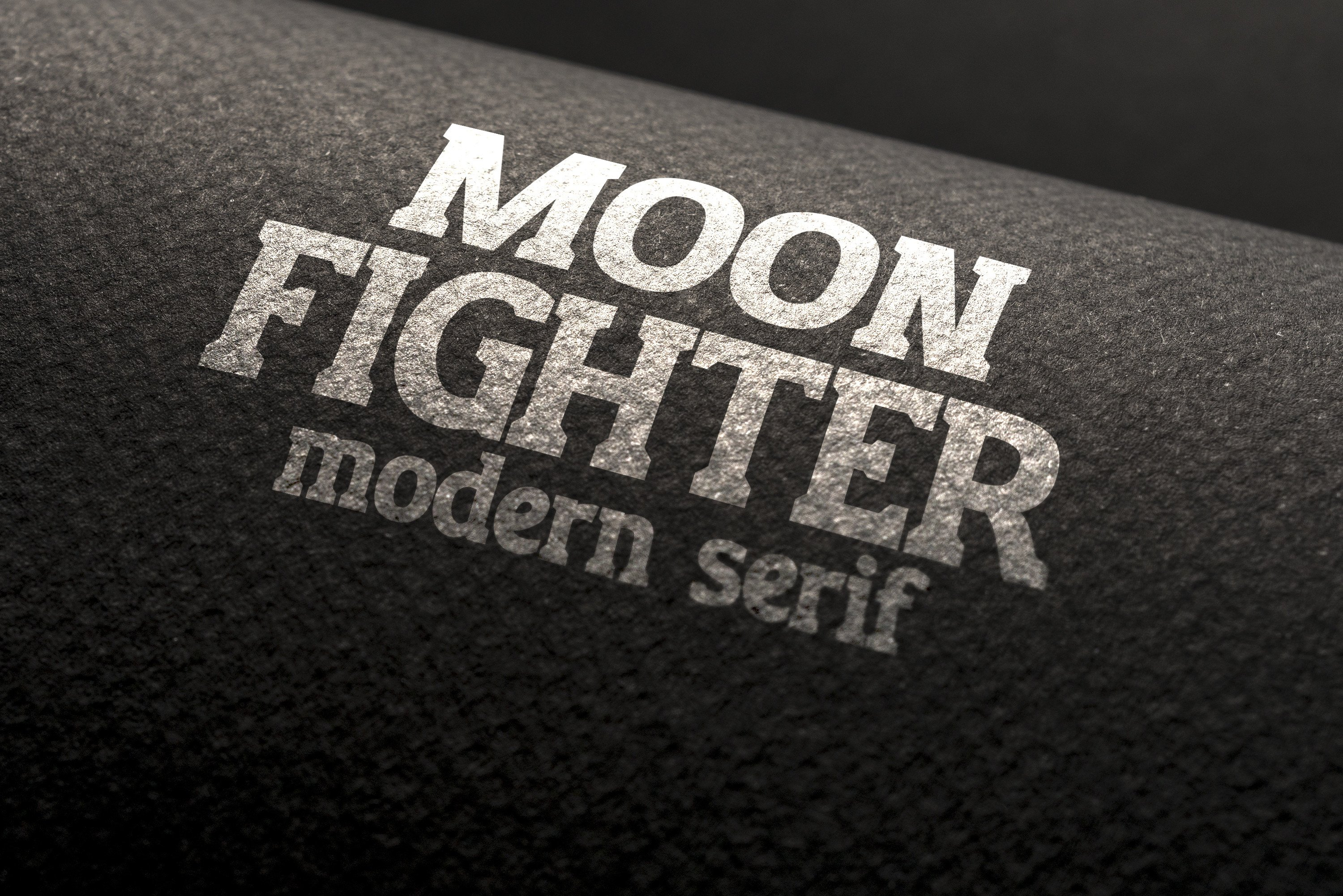 Moon Fighter Font By Ijem RockArt