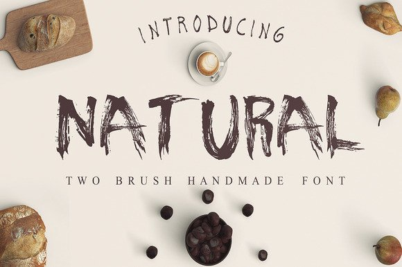 Print on Demand: Natural Display Font By Only The Originals