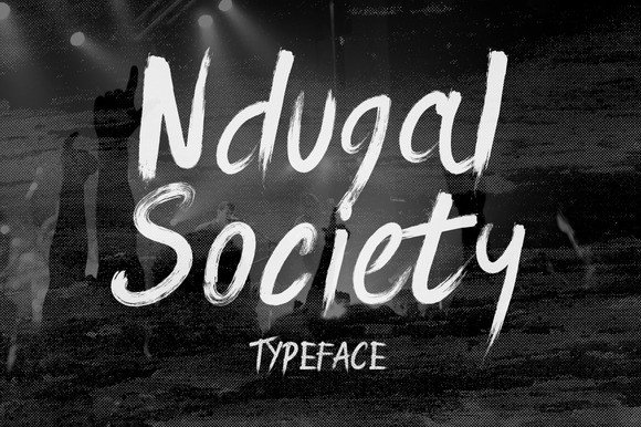 Ndugal Society Font By Wowok Prast