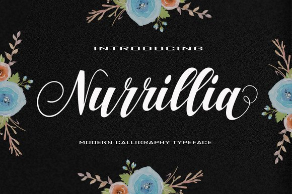 Print on Demand: Nurrillia Script & Handwritten Font By Polem