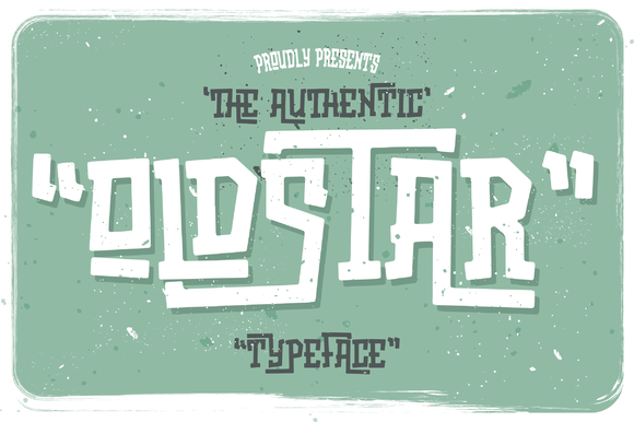 Print on Demand: Oldstar Display Font By Bdstrd Std