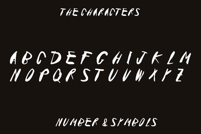 Print on Demand: Pokerface Display Font By Only The Originals - Image 2