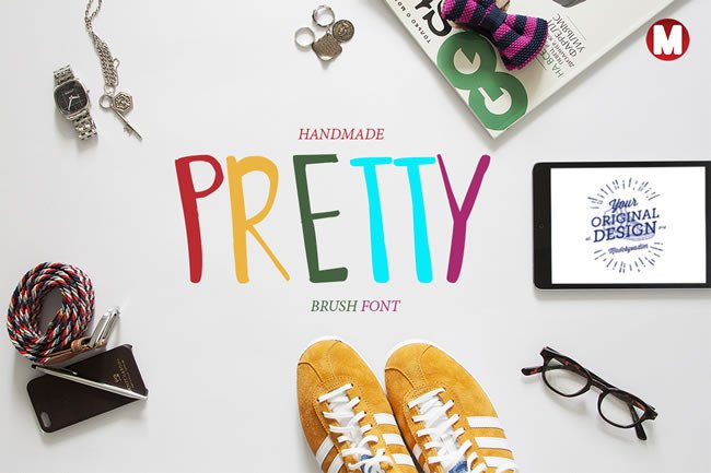 Print on Demand: Pretty Display Font By Only The Originals