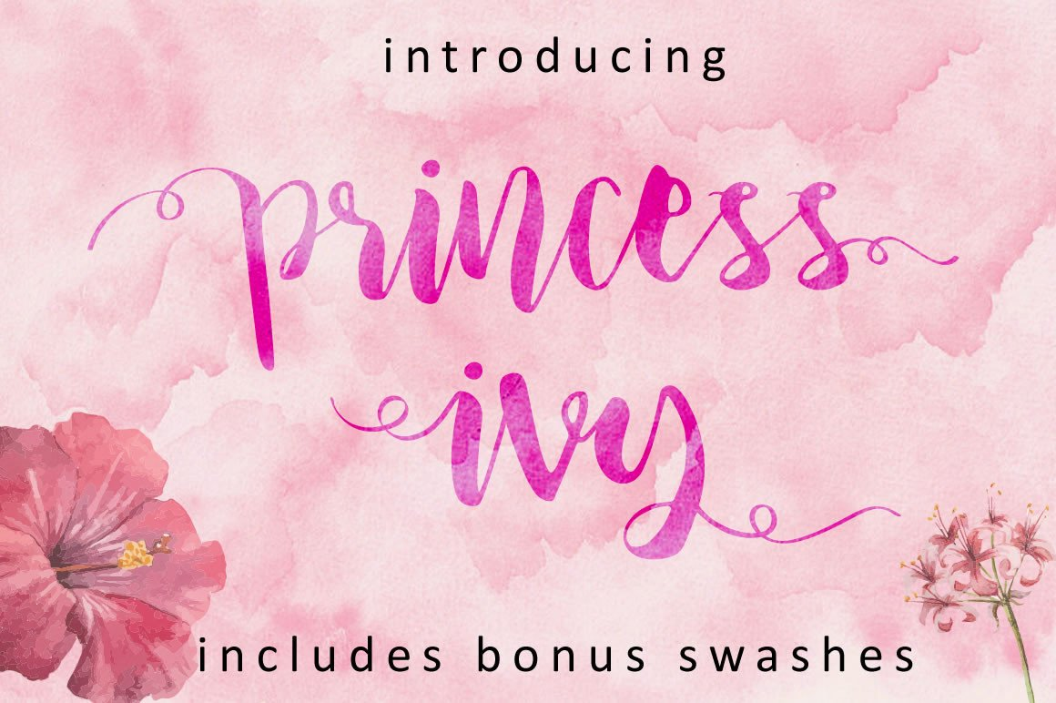 Download Free Princess Ivy Font By Little Big Bundle Creative Fabrica for Cricut Explore, Silhouette and other cutting machines.