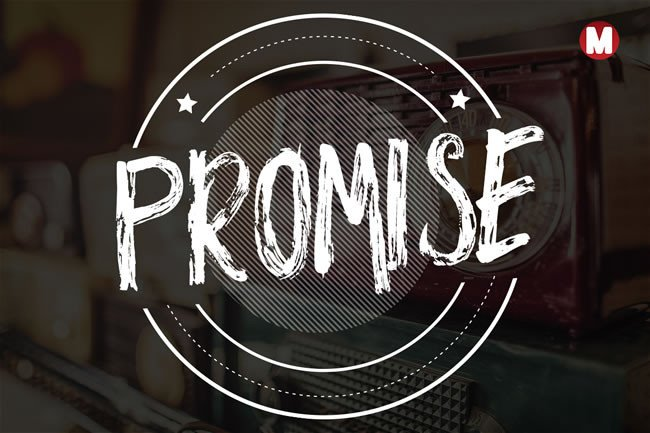 Print on Demand: Promise Display Schriftarten von Only The Originals