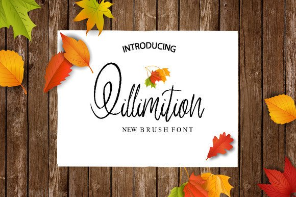 Print on Demand: Qillimition Script & Handwritten Font By Only The Originals
