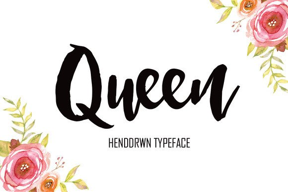 Queen Font By Polem