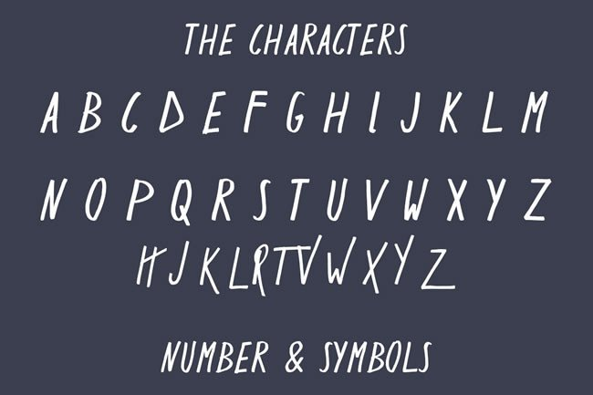 Print on Demand: Ractet Display Font By Only The Originals - Image 3