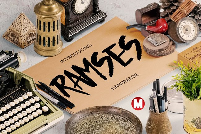 Print on Demand: Ramses Script & Handwritten Font By Only The Originals