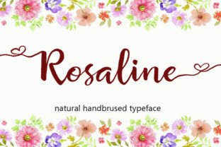Rosaline by Byuly Ayika Font Subscription 1