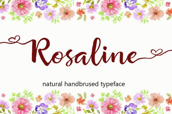 Rosaline Font By Byuly Ayika