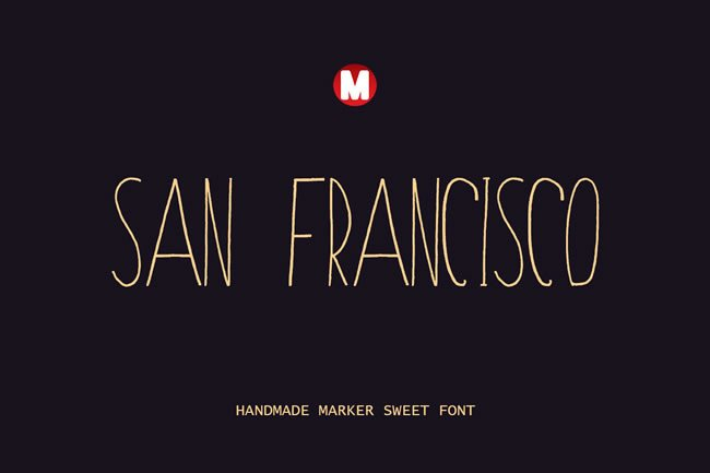 Print on Demand: San Francisco Sans Serif Font By Only The Originals