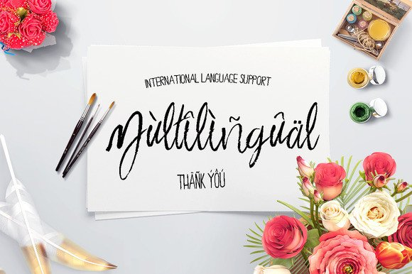 Print on Demand: Saturday Script & Handwritten Font By Only The Originals - Image 8