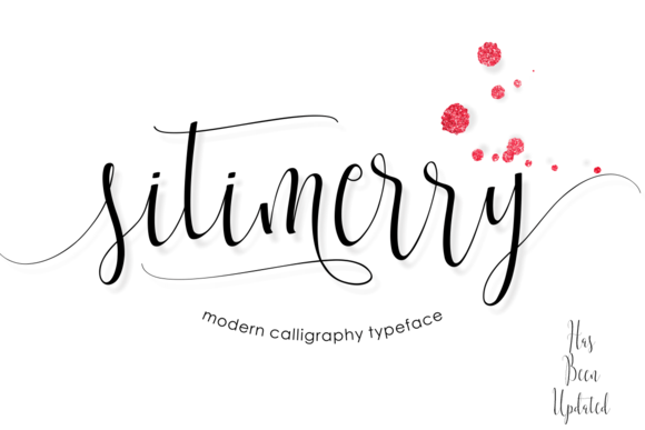 Print on Demand: Sitimerry Script & Handwritten Font By BonjourType