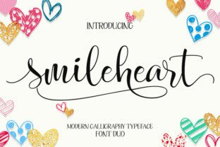 Smileheart by Byuly Ayika Font Subscription 1