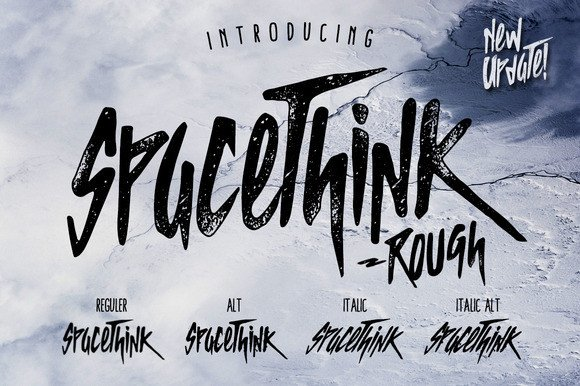 Spacethink Font By Giemons