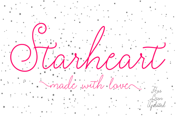 Print on Demand: Starheart Script & Handwritten Font By BonjourType