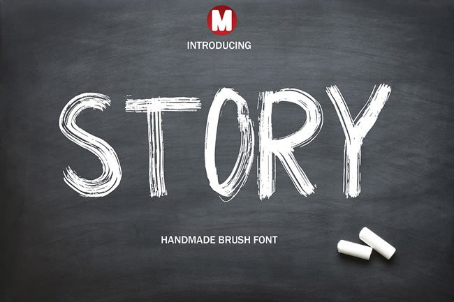 Print on Demand: Story Display Font By Only The Originals - Image 1