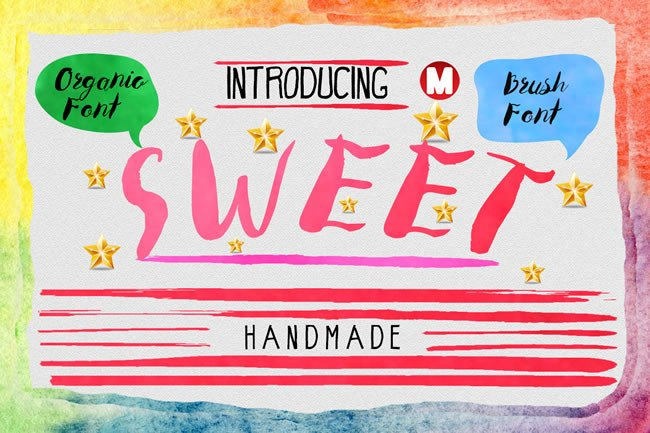 Print on Demand: Sweet Script & Handwritten Font By Only The Originals