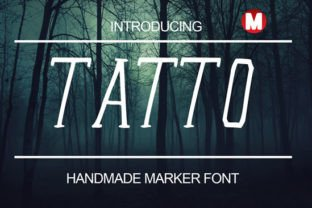 Tatto Font By Only The Originals
