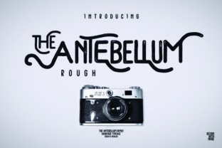 The Antebellum font family by Giemons in Font Subscription 1