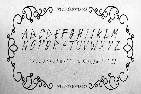 Print on Demand: The Cranberries Script & Handwritten Font By Only The Originals - Image 6