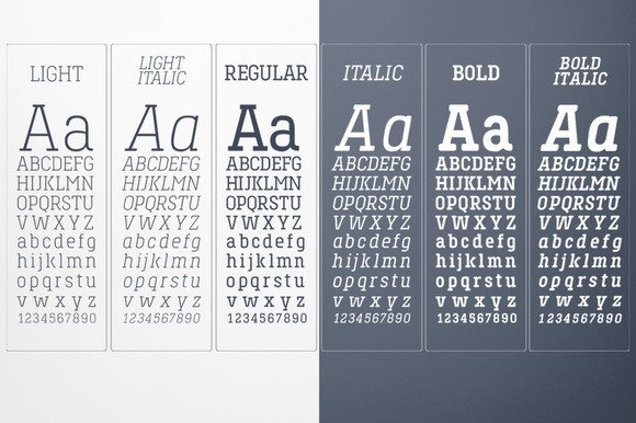 Print on Demand: Toenas Bangsa Family - Light Slab Serif Font By Bang Kumis Typefoundry - Image 3