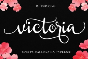 Victoria by Byuly Ayika Font Subscription 1