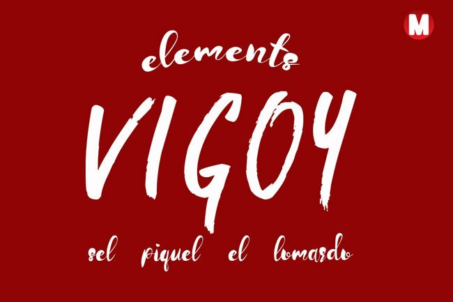 Print on Demand: Vigoy Display Font By Only The Originals