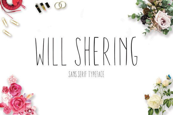Print on Demand: Will Shering Script & Handwritten Font By Moriztype - Image 14