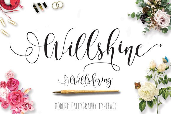 Print on Demand: Will Shering Script & Handwritten Font By Moriztype - Image 15