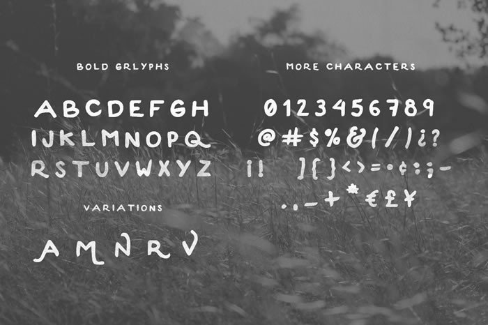 Convoy Font Preview