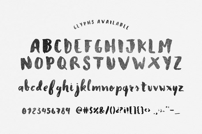 Print on Demand: Heather Display Font By Noe Araujo - Image 2