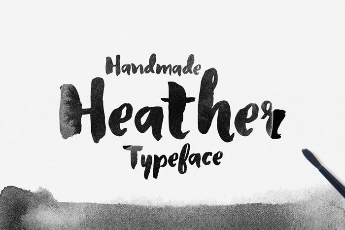 Print on Demand: Heather Display Font By Noe Araujo - Image 1