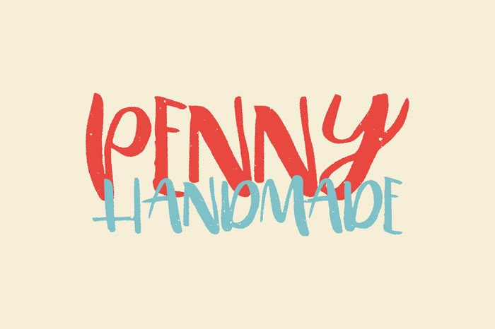 Print on Demand: Penny Display Font By Noe Araujo