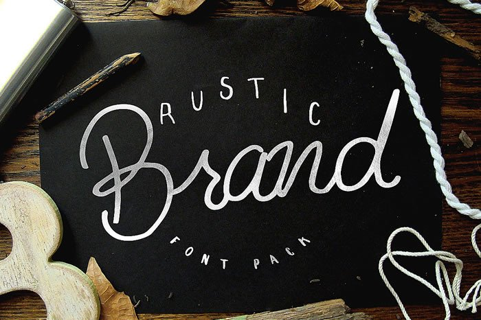 Print on Demand: Rustic Brand Script & Handwritten Font By Noe Araujo