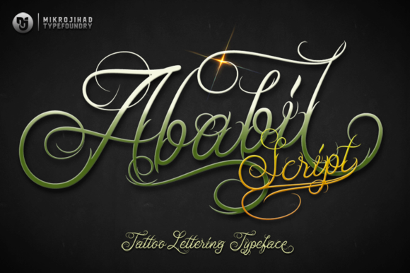 Download Free Ababil Script Full Font By Mikrojihad Typefounder Creative Fabrica for Cricut Explore, Silhouette and other cutting machines.