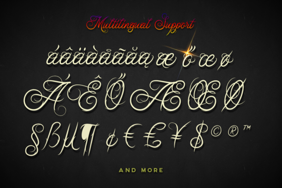 Ababil Script Standard Font By Mikrojihad Typefounder Image 4