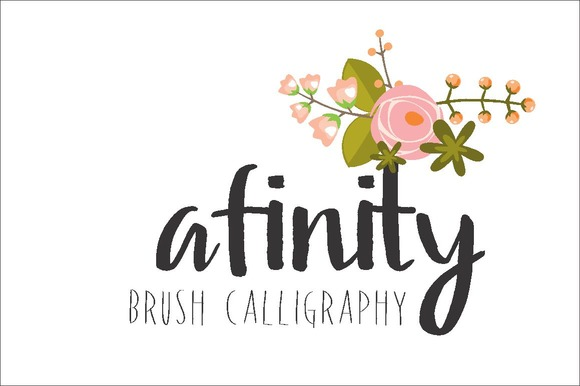 Print on Demand: Afinity Script & Handwritten Font By Carolina Mejia