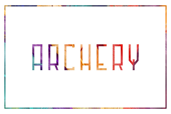 Print on Demand: Archer Sans Serif Font By SNK - Image 1