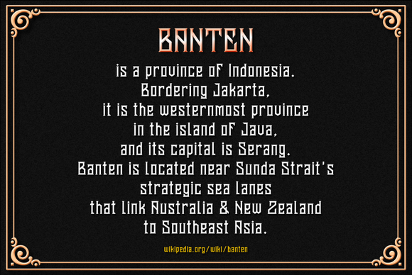 Print on Demand: Banten Unfamous 2 Display Font By Mikrojihad Typefounder - Image 6