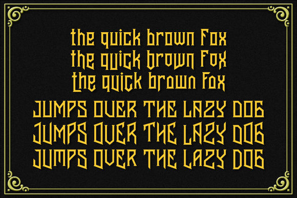 Print on Demand: Banten Unfamous 2 Display Font By Mikrojihad Typefounder - Image 7