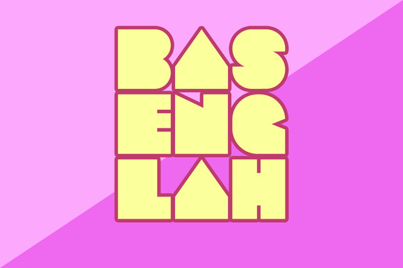 Print on Demand: Basenglah Font Pack Display Fuente Por Arterfak Project