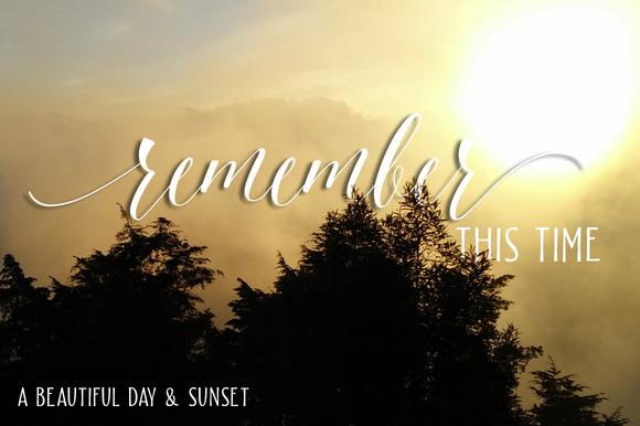 Beautiful Friday Font By LostvolType Image 6